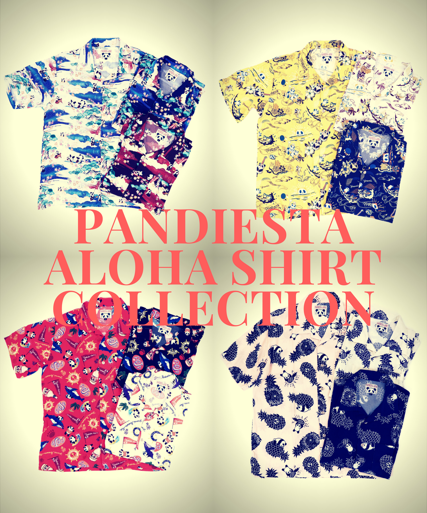 PANDIESTA ALOHA SHIRT COLLECTION