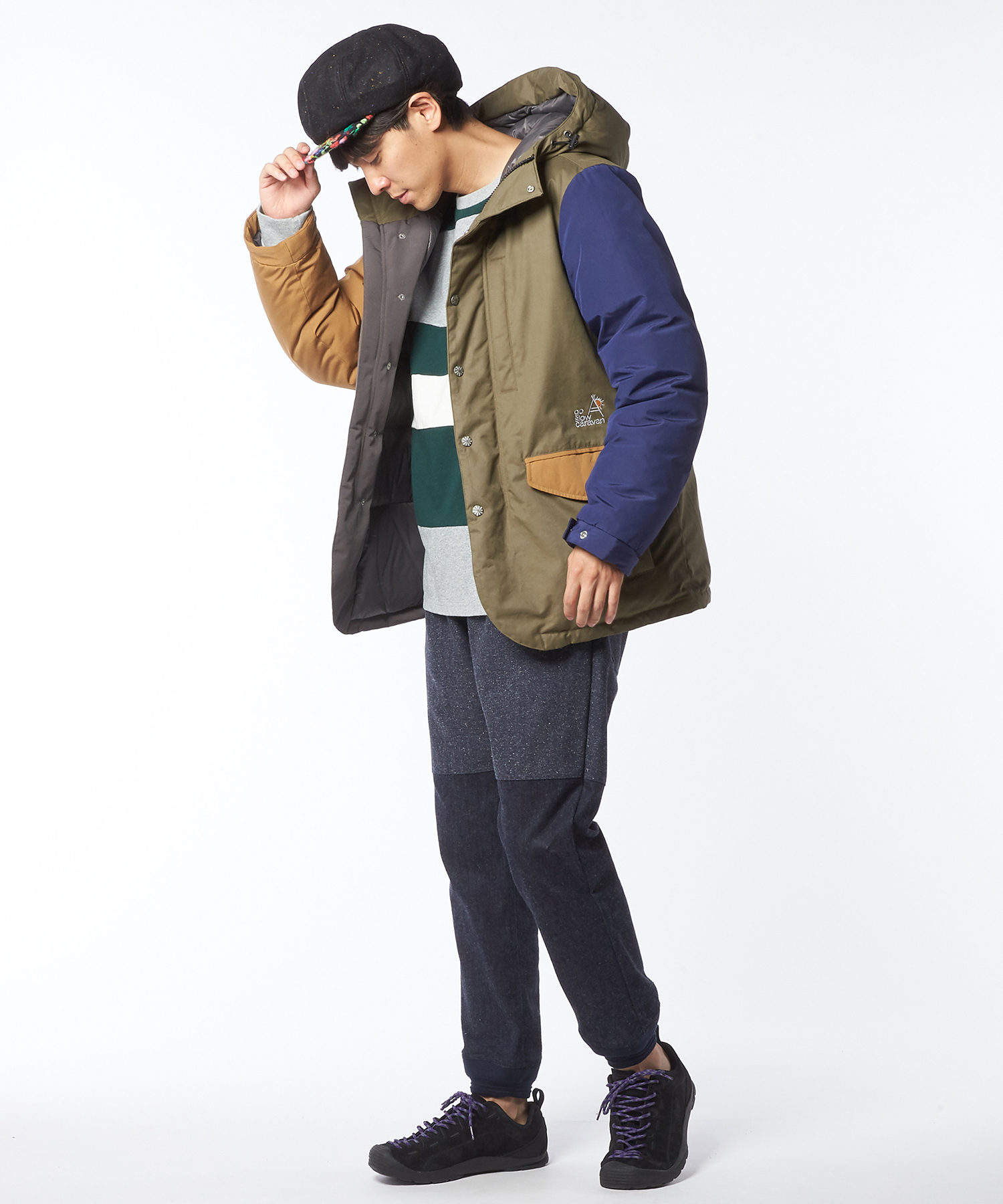 2018 AW go slow caravan Coordinate Mens7