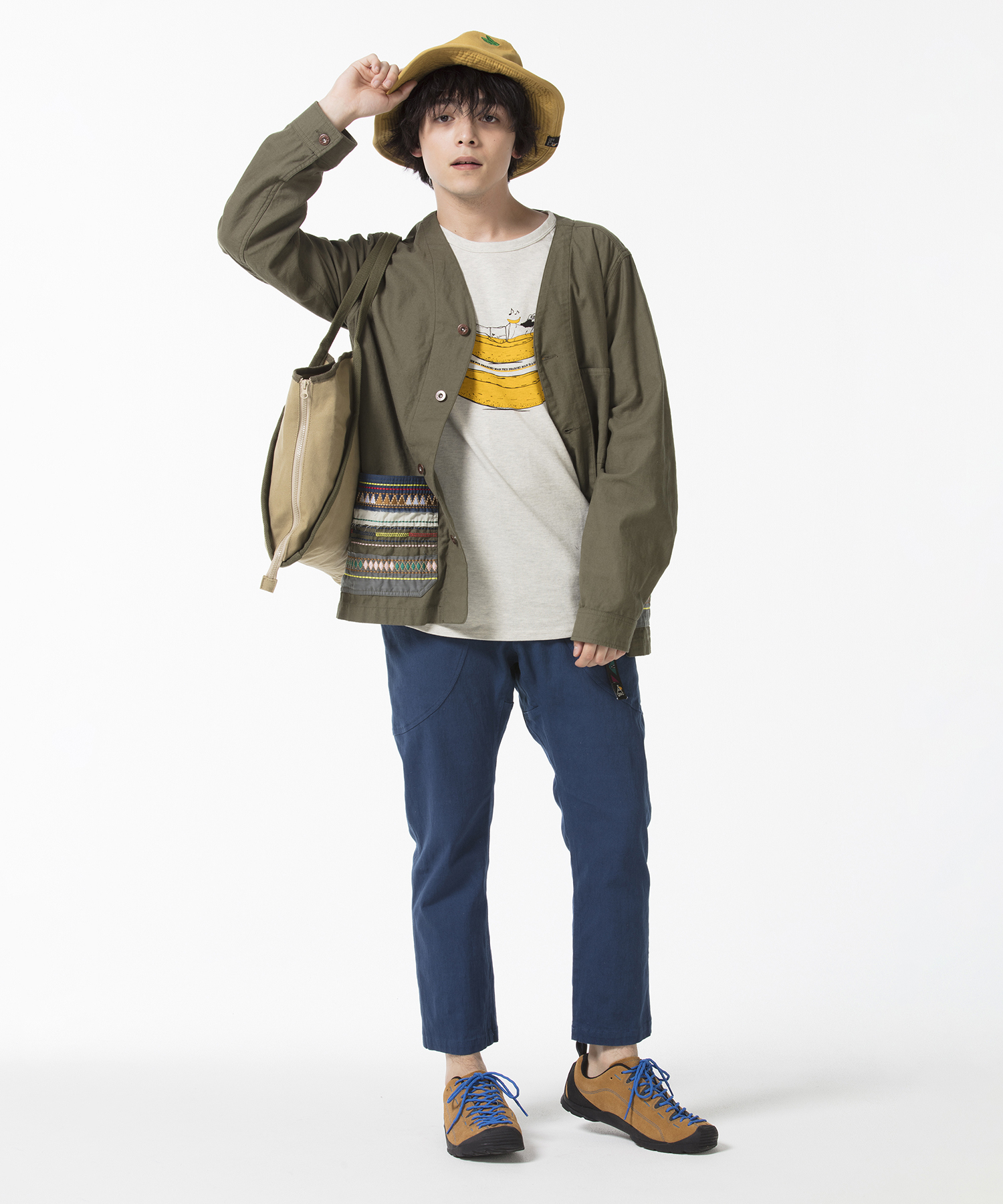 2019SS go slow caravan Coordinate Mens_1