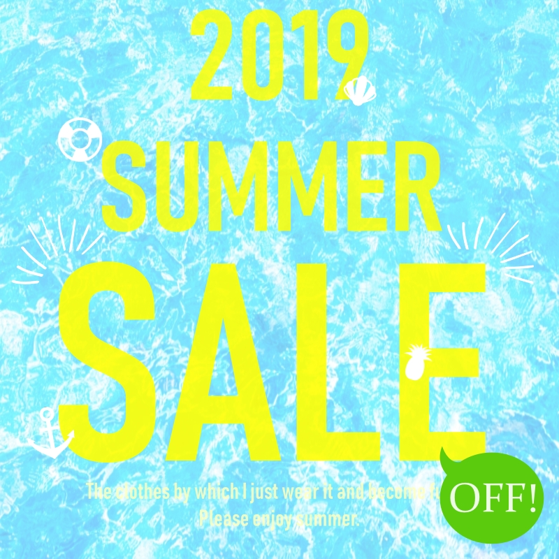 【JUICY】2019 SUMMER SALE