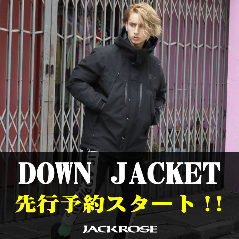 【JACKROSE】DOWN JACKET 予約スタート!!