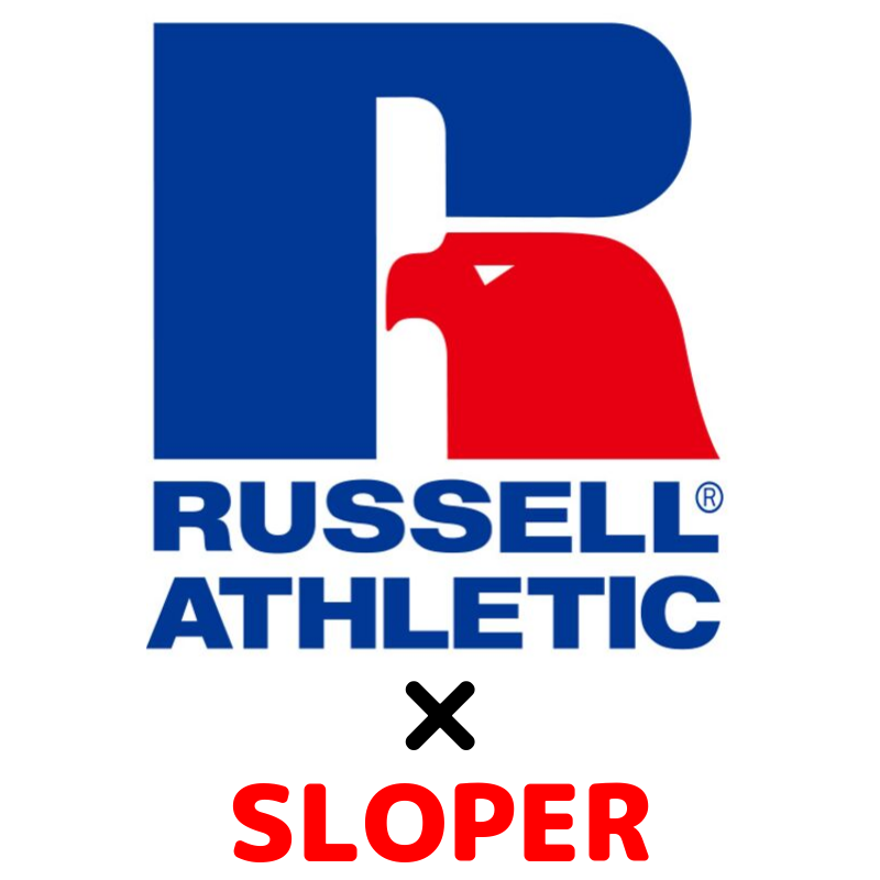 【SLOPER】RUSSELL ATHLETIC×SLOPERコラボ企画第二弾!!