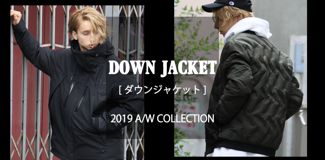 【JACKROSE】DOWN JACKET