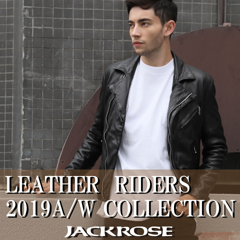 【JACKROSE】LEATHER RIDERS 2019A/W