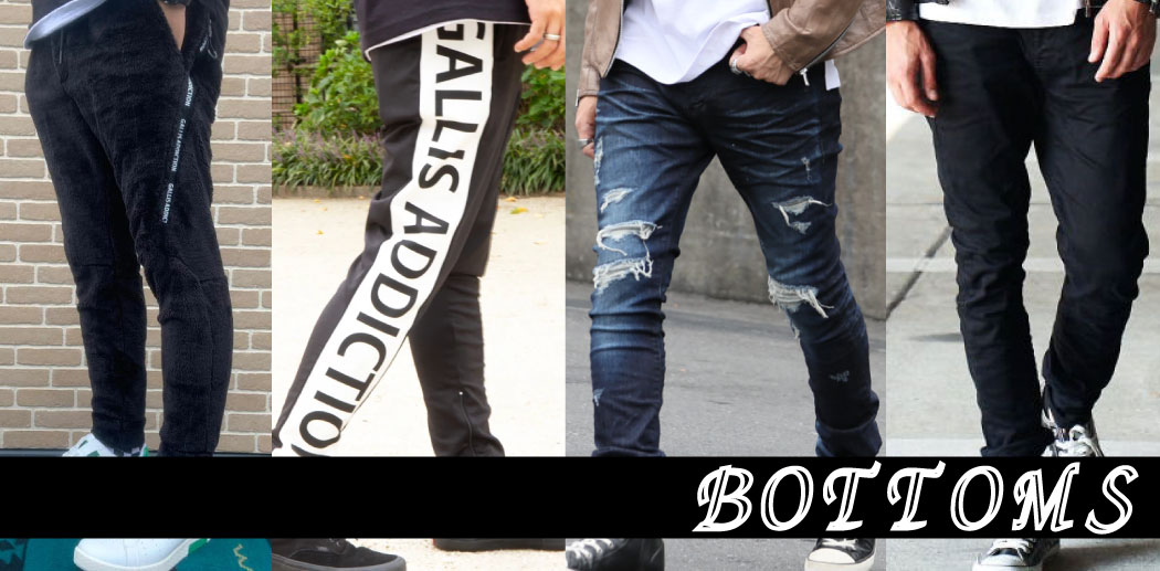 【JACKROSE】BOTTOMS COLLECTION