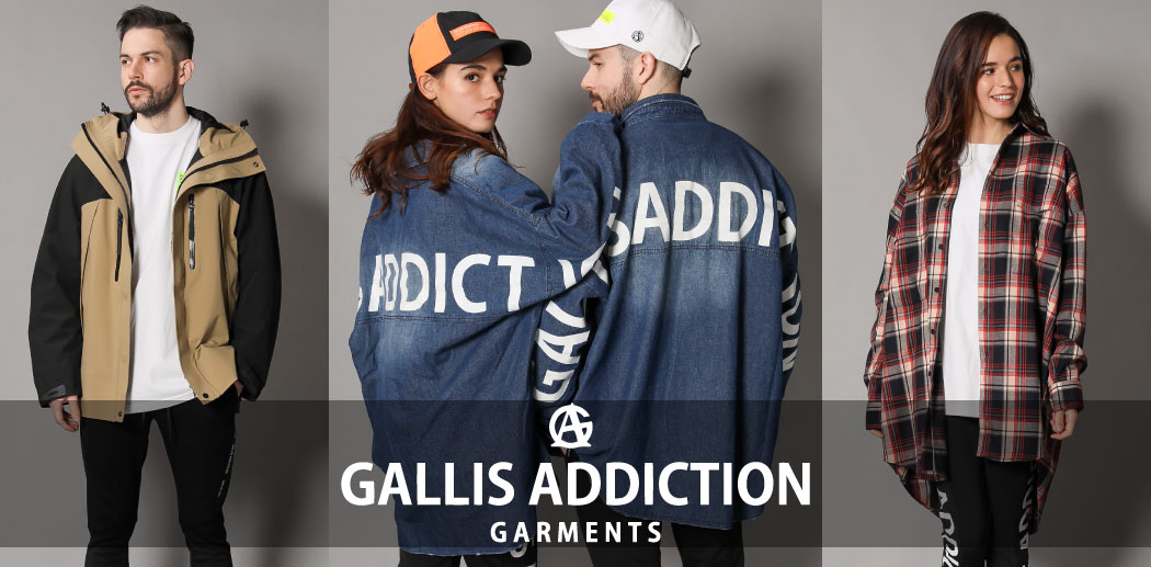 【JACKROSE】2019 A/W GALLIS ADDICTION