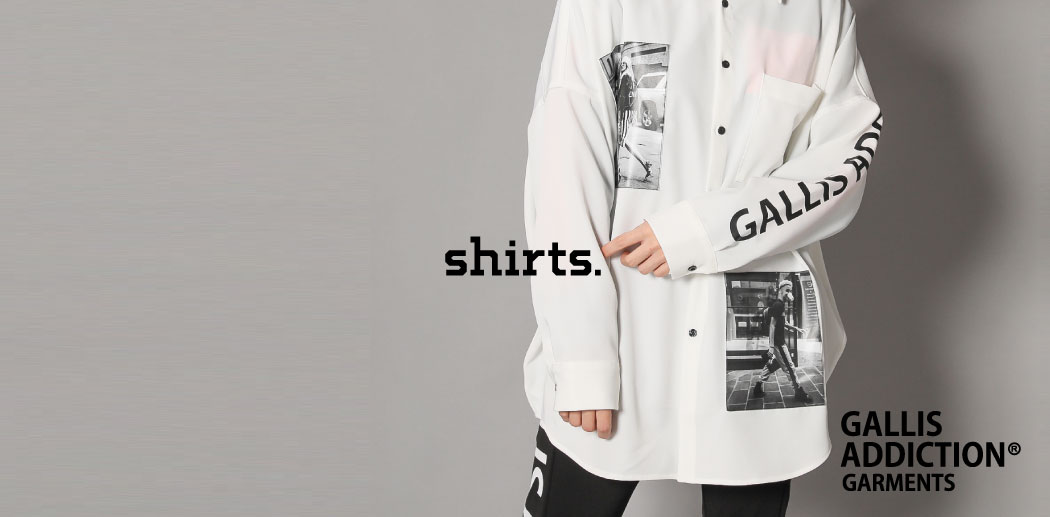 【JACKROSE】GALLIS ADDICTION SHIRTS