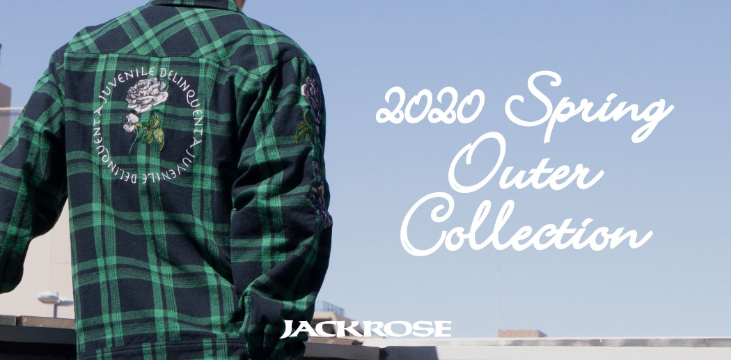 【JACKROSE】2020 Spring Outer Collection