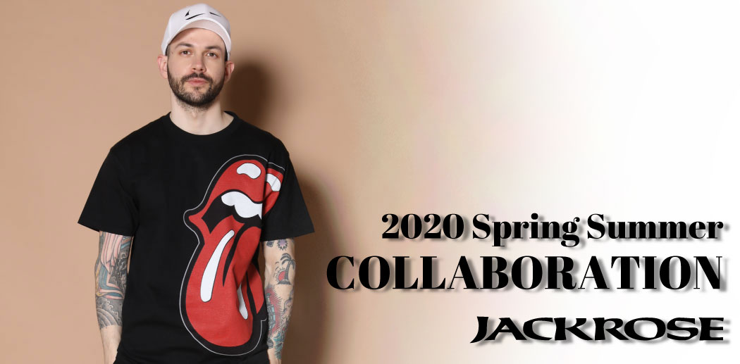 【JACKROSE】2020SS COLLABORATION