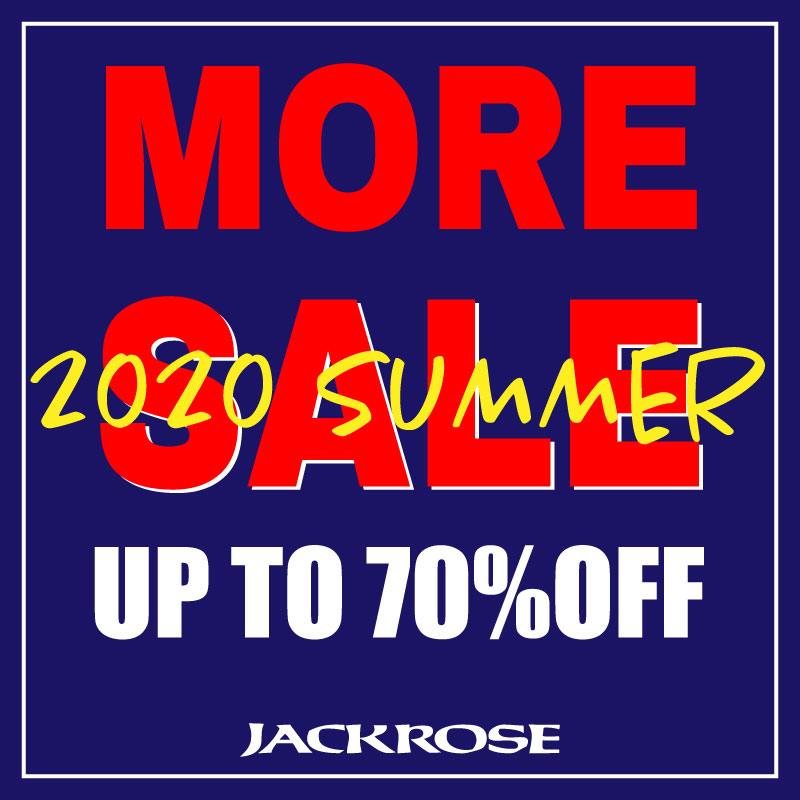 【JACKROSE】SUMMER SALE