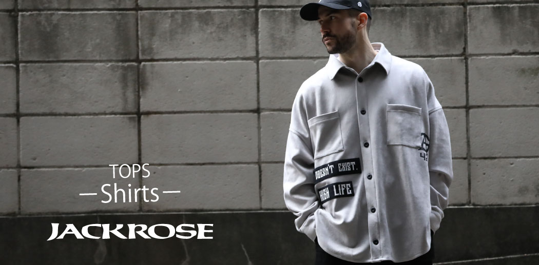 【JACKROSE】TOPS -Shirts-
