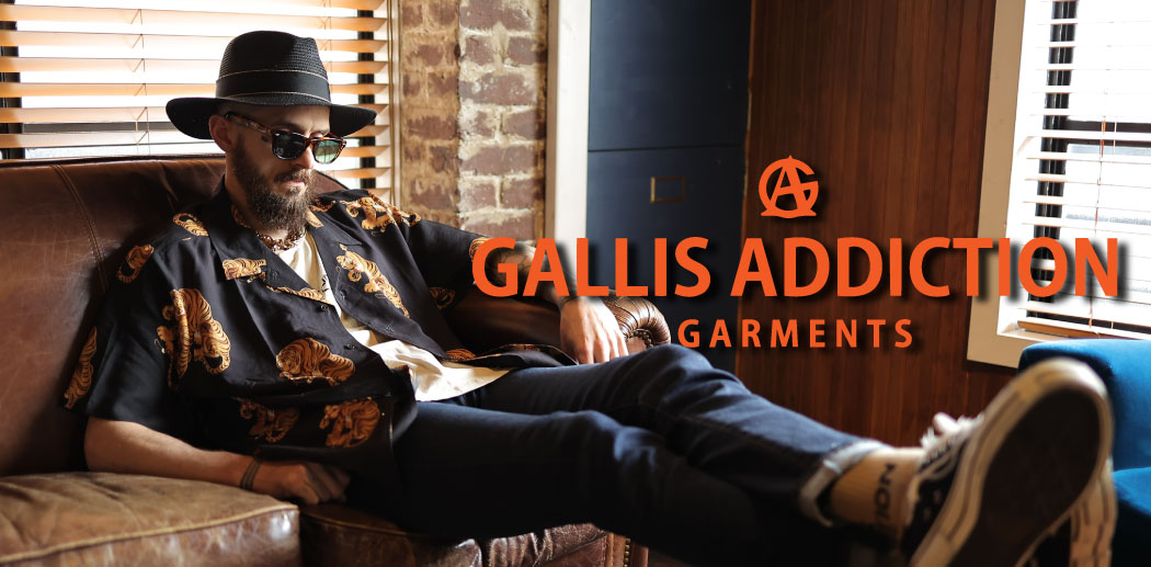 【JACKROSE】GALLIS ADDICTION BRAND 2021 SUMMER1